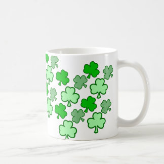 Clover Coffee Cup for St. Patty's Day