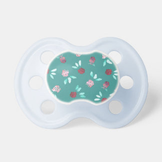 Clover Flowers Baby Pacifier