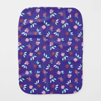 Clover Flowers Burp Cloth