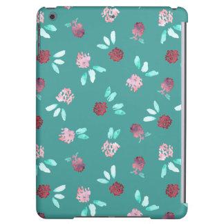 Clover Flowers Glossy iPad Air Case