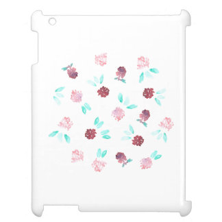 Clover Flowers Glossy iPad Case