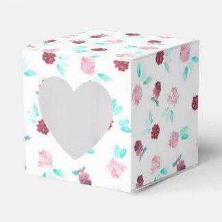 Clover Flowers Heart Favor Box Party Favour Boxes