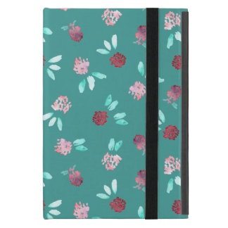 Clover Flowers iPad Mini Case with No Kickstand