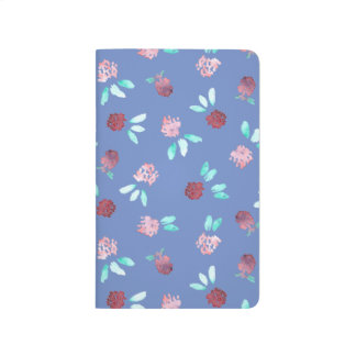 Clover Flowers Pocket Journal