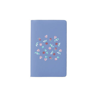 Clover Flowers Pocket Notebook
