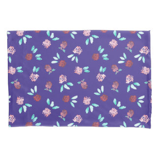 Clover Flowers Single Standard Size Pillowcase