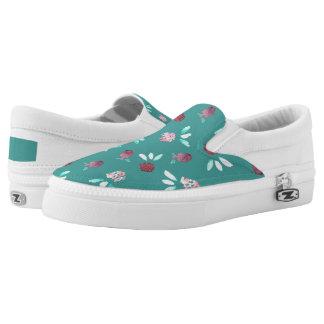 Clover Flowers Slip On Shoes