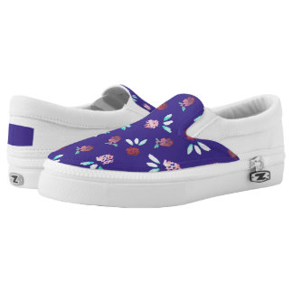 Clover Flowers Slip On Shoes
