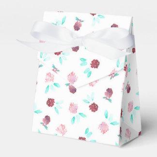 Clover Flowers Tent Favor Box Favour Boxes