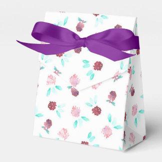 Clover Flowers Tent Favor Box Wedding Favour Box
