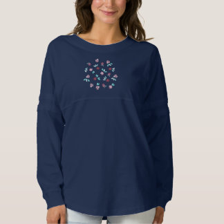 Clover Flowers Women's Spirit Jersey Shirt
