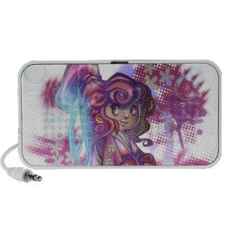 Clover Geisha Doodle Speaker Portable Speaker