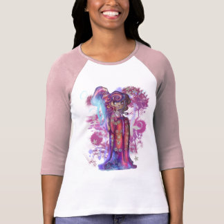Clover Geisha Ladies 3/4 Sleeve Shirt