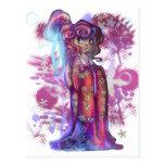 Clover Geisha Post Card
