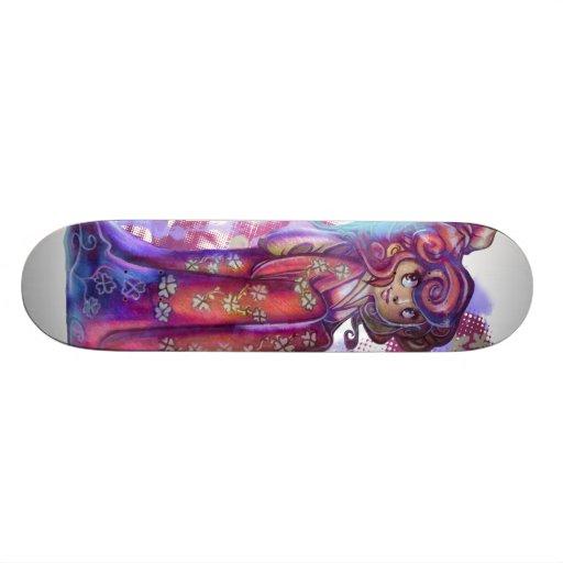 Clover Geisha Skateboard Deck