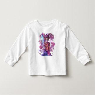 Clover Geisha Toddler Long Sleeve Tee Shirt