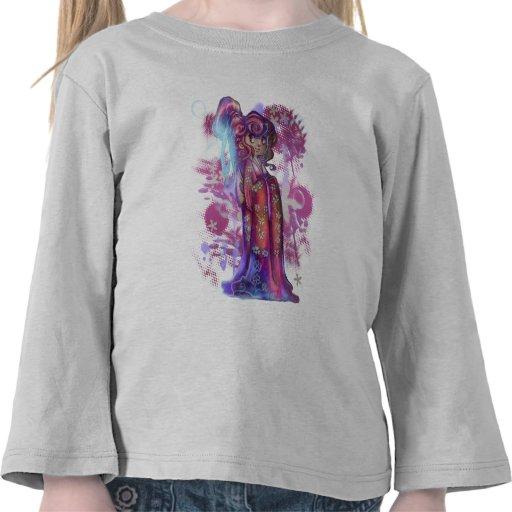 Clover Geisha Toddler Long Sleeve Shirt