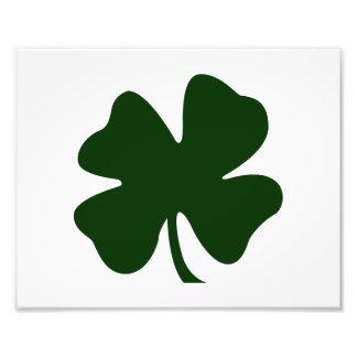 clover green blob st pat day irish.png photo print