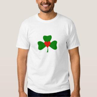 Clover heart t shirt