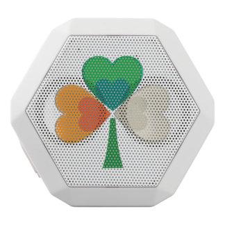 clover in irish flag colors white boombot rex bluetooth speaker
