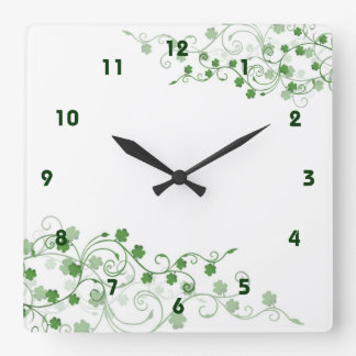 Clover Irish Wall Clock
