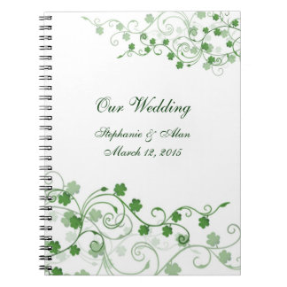 Clover Irish Wedding Notebook