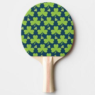 Clover Leaf Illustration Ping Pong Paddle
