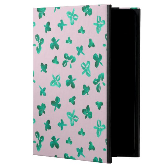 Clover Leaves iPad Air 2 Case with No