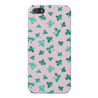 Clover Leaves iPhone 5/5s Matte Finish Case iPhone 5/5S Cover