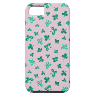 Clover Leaves iPhone SE/5/5s Tough Phone Case