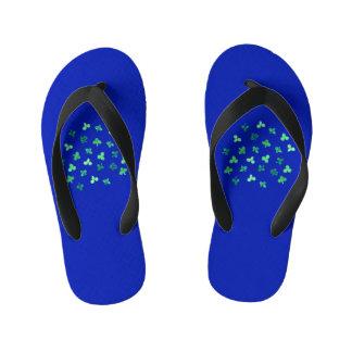Clover Leaves Kids' Flip Flops