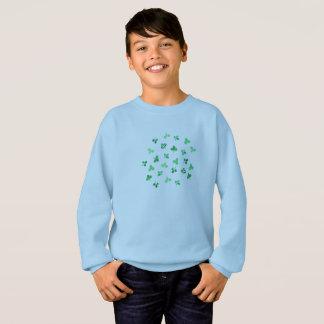 Clover Leaves Kids' Sweatshirt