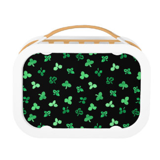 Clover Leaves Lunch Box