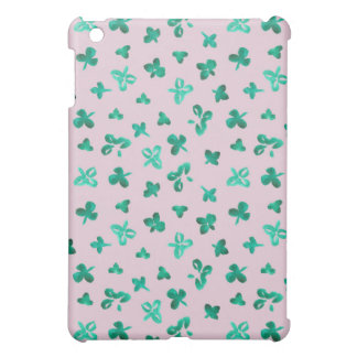 Clover Leaves Matte iPad Mini Case
