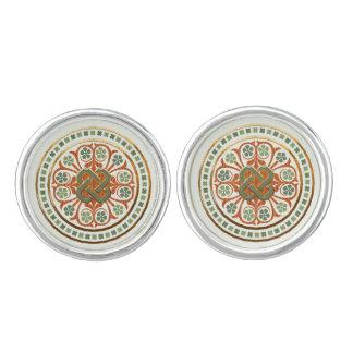 Clover Mandala Cufflinks
