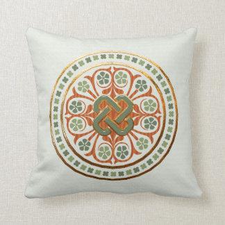 Clover Mandala Pillow