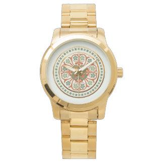 Clover Mandala Wristwatch