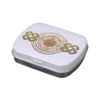 Clover Mandala Jelly Belly Tin