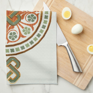 Clover Mandala Hand Towel