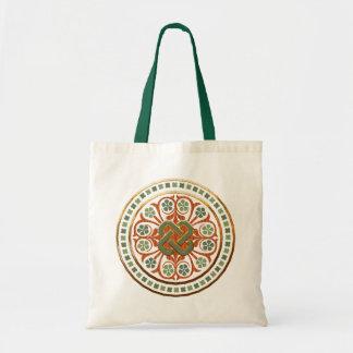Clover Mandala Budget Tote Bag