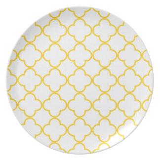 Clover Pattern 1 Freesia Plates