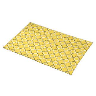Clover Pattern 2 Freesia Place Mat