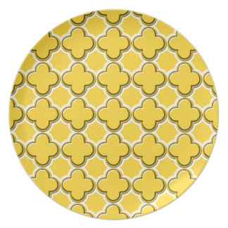 Clover Pattern 2 Freesia Party Plates