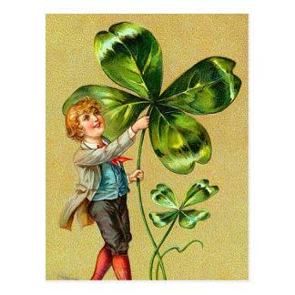 Clover St Patrick s Day Postcards
