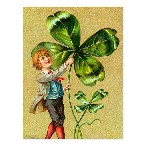 Clover St. Patrick's Day Postcards