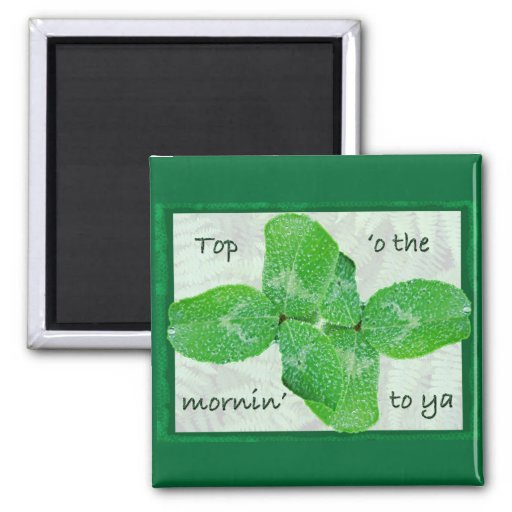 Clover St Patty's Day Magnet