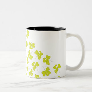 Clover Two-Tone Coffee Mug