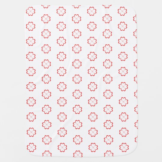 Clover with four liefs baby blanket