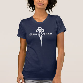 Cloverleaf Navy Blue Women's T-Shirt