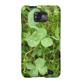 Clovers and Dew Drops Samsung Galaxy S2 Covers